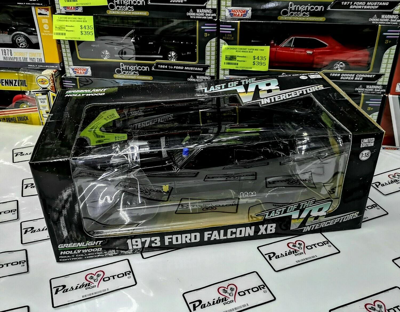 "1:18 Ford Falcon XB 1973 Last Of The V8 Interceptors ""Mad Max"" Greenlight"