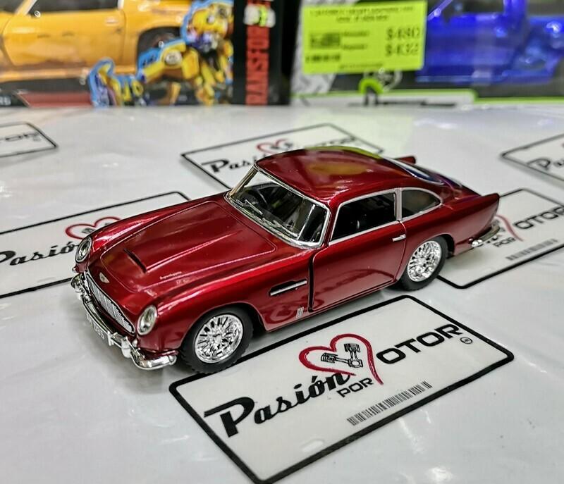 1:38 Aston Martin DB5 1963 Rojo Kinsmart En Display a Granel 1:32