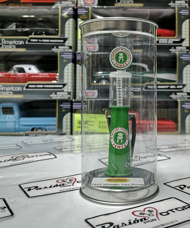 1:18 Bomba de Gasolina Vintage Clasica Pemex 1925 Verde
