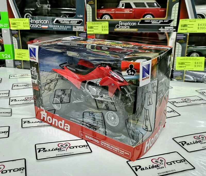 1:12 Honda TRX450R Rojo ATV Cuatrimoto New Ray