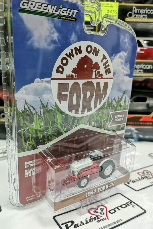 1:64 Ford 8N 1947 Tractor Agricola Greenlight Down On The Farm Serie 1