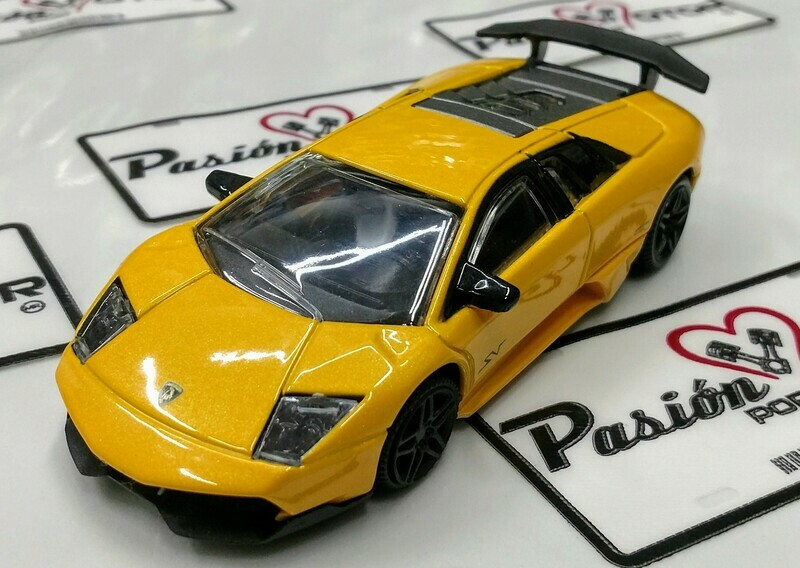 1:43 Lamborghini Murcielago LP670-4 SV 2009 Amarillo Rastar En Display / a Granel