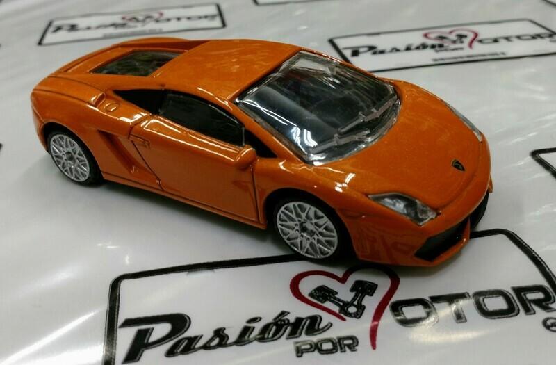 1:43 Lamborghini Gallardo LP560-4 2008 Naranja Rastar Display / a Granel