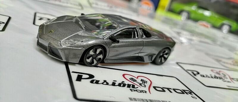 1:43 Lamborghini Reventon 2007 Gris Mate Rastar Display / a Granel