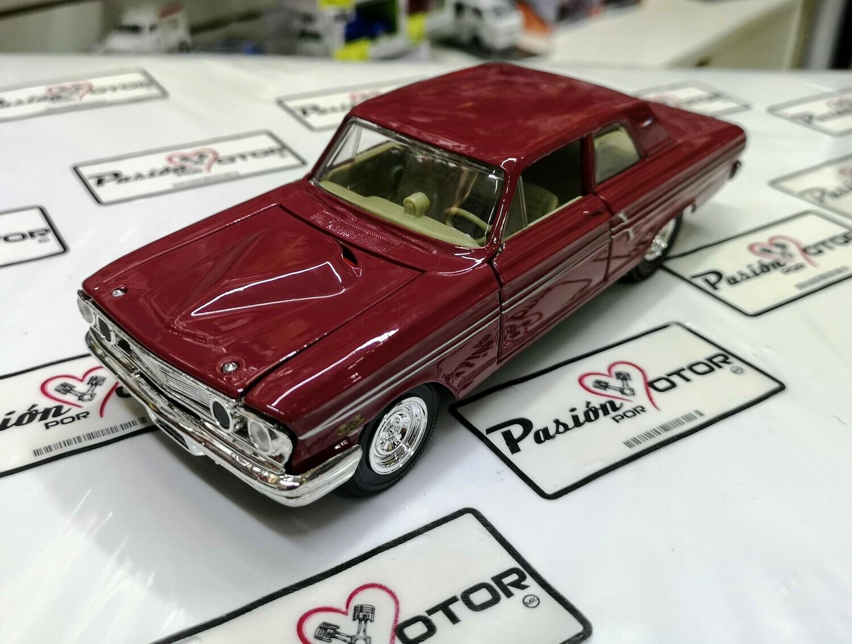 1:24 Ford Fairline Thunderbolt 1964 Terracota Maisto Special Edition En Display / A Granel