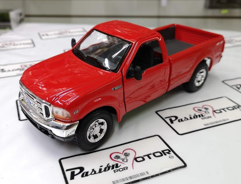 1:27 Ford F-350  Super Duty 1999 Rojo Maisto Special Edition  Special Edition En Display / A Granel 1:24