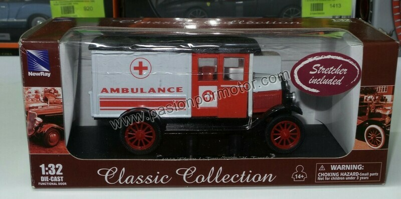 1:32 Chevrolet Series H  Truck 1 Ton 1924 Ambulancia New Ray