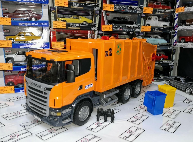 1:16 Scania Serie R560 V8 Camion Recolector de Basura Torton Bruder