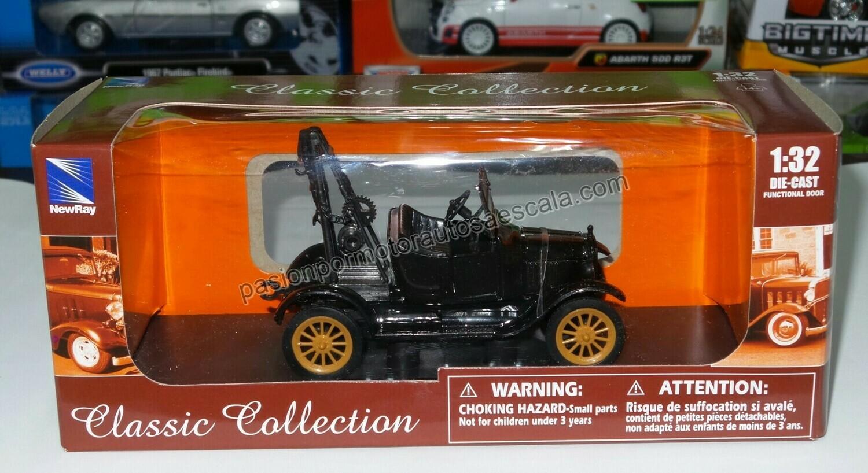 1:32 Ford Modelo T Grua 1923 Negro Carcacha New Ray
