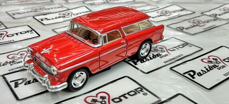1:40 Chevrolet Nomad 1955 Rojo Kinsmart En Display / a Granel 1:32