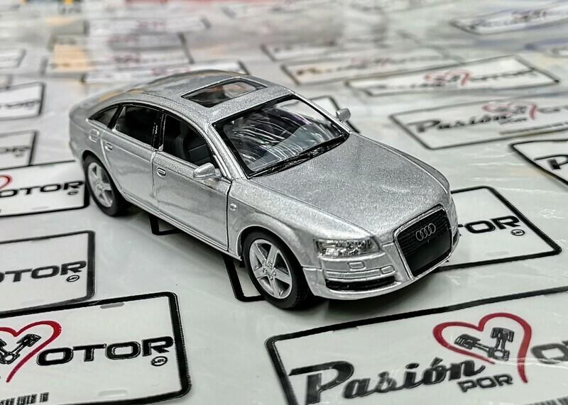 1:38 Audi A6 2005 Plata Kinsmart En Display / a Granel 1:32