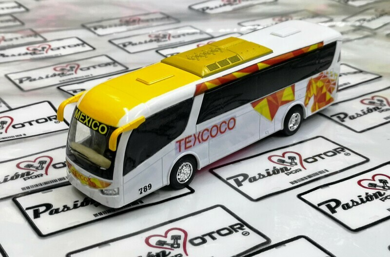1:68 Scania Irizar Pb Autobus Texcoco Kinsfun 1:64