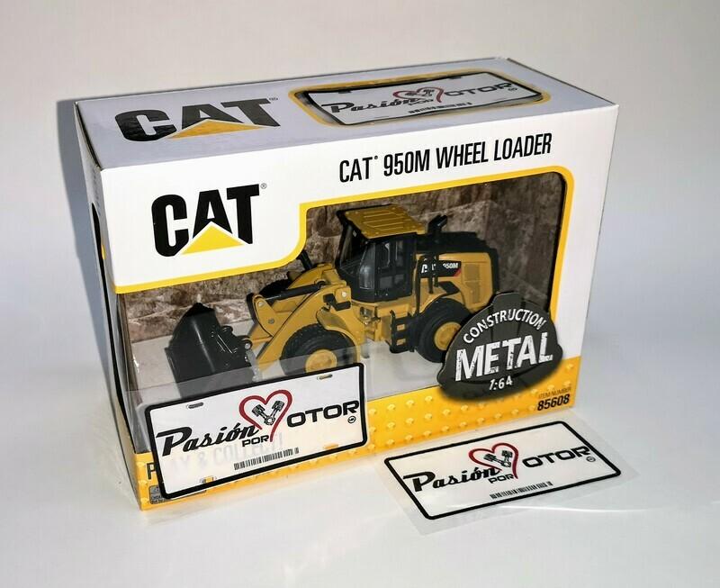 1:64 Caterpillar 950M Pala Trascabo Cargadora Excavadora Wheel Loader DieCast Masters