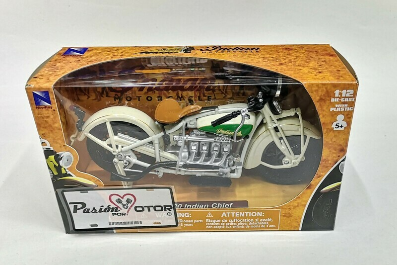1:12 Indian Chief 1930 Beige New Ray Moto