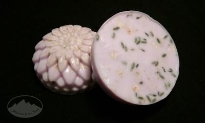 Jabon de lavanda y avena - flor