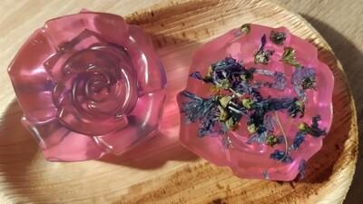 Jabón de Malva con Extracto de Pepino y Aloe Vera -Verano Edition