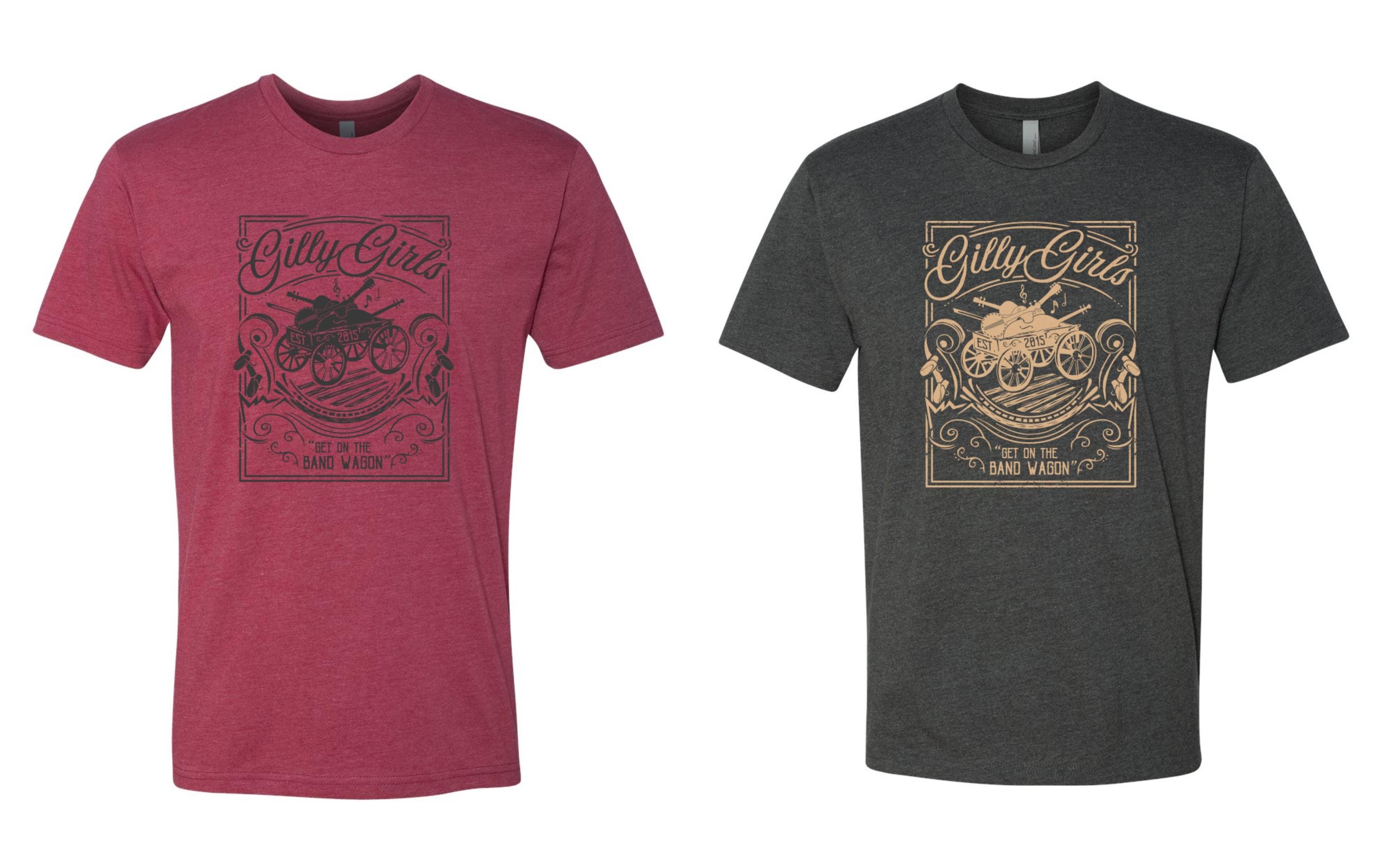 Get on the Band Wagon T-shirt 00002