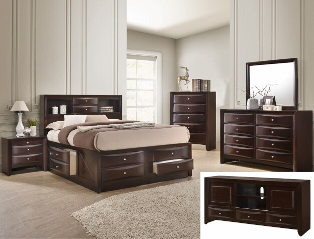 QUEEN 4PCS BEDROOM SET