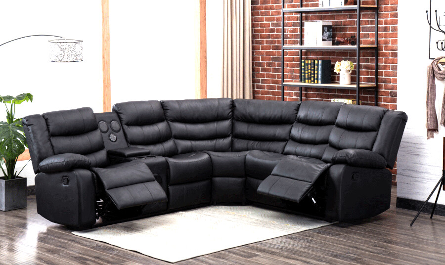 SECTIONAL WITH BLUETOOTH SPEAKER