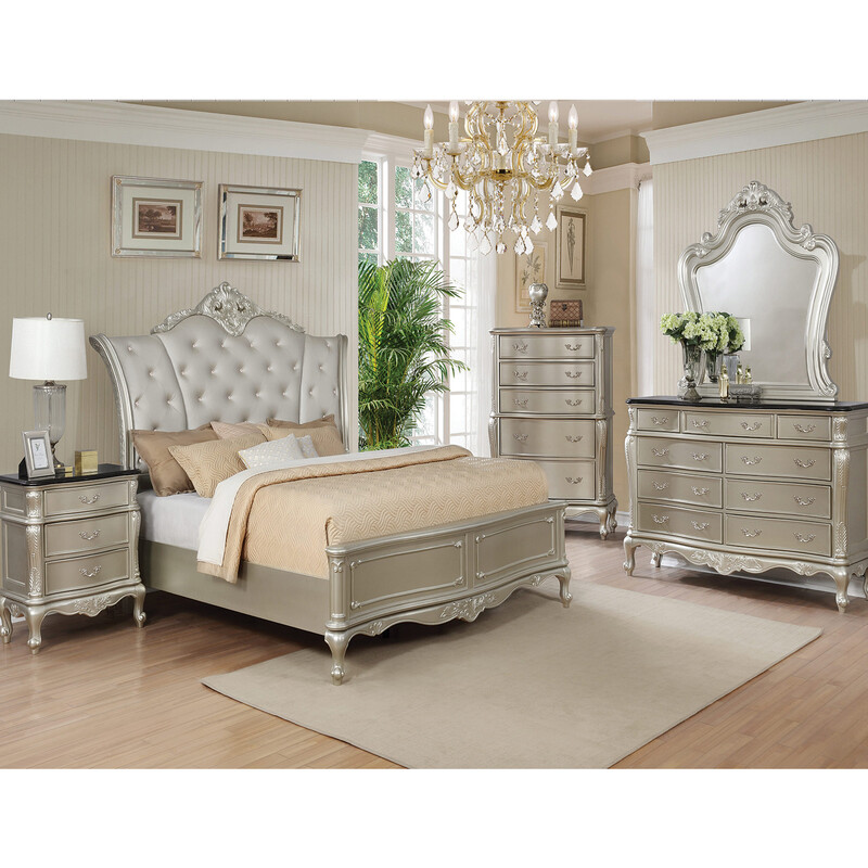 BEDROOM SET (4 PC SET )