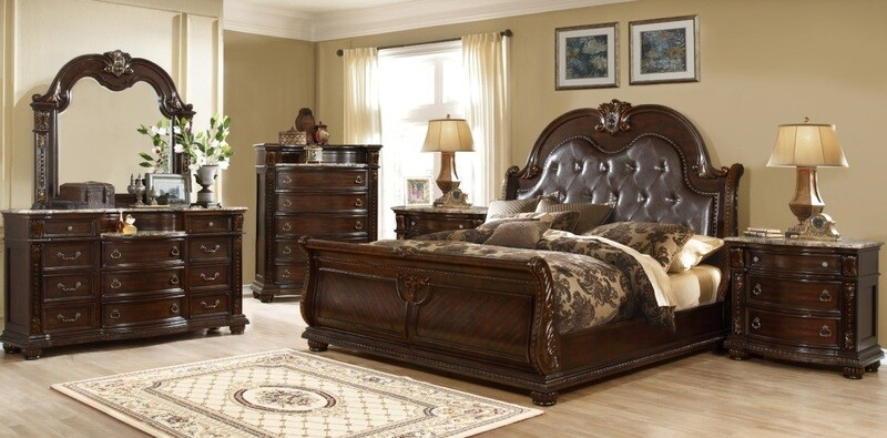 BEDROOM SET - 4 PC SET