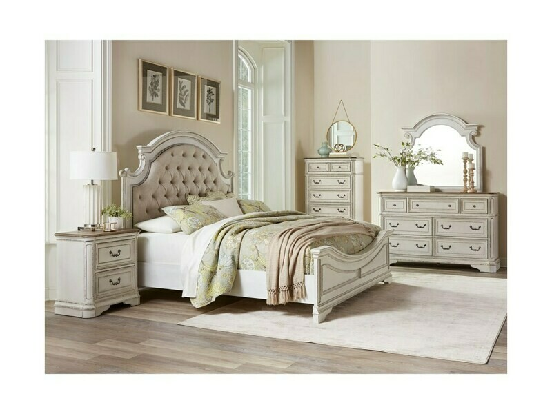 BEDROOM SET (4 PC SET)