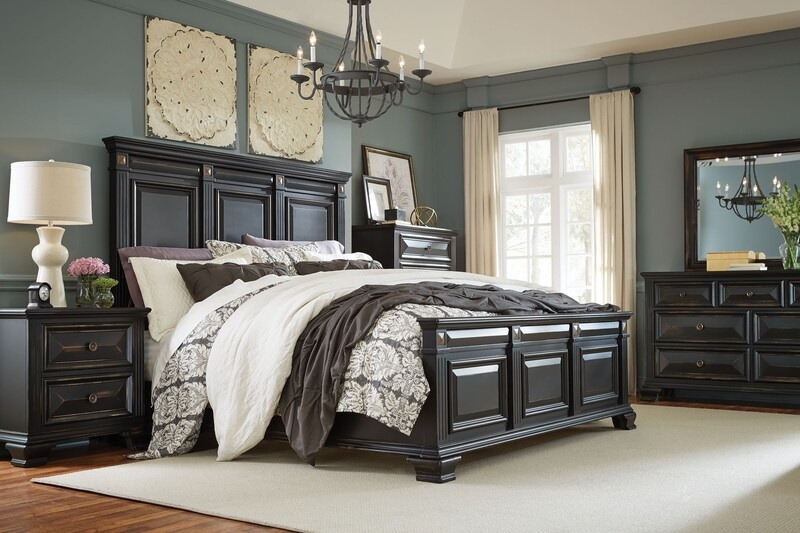 BEDROOM SET ( 4 PC SET)
