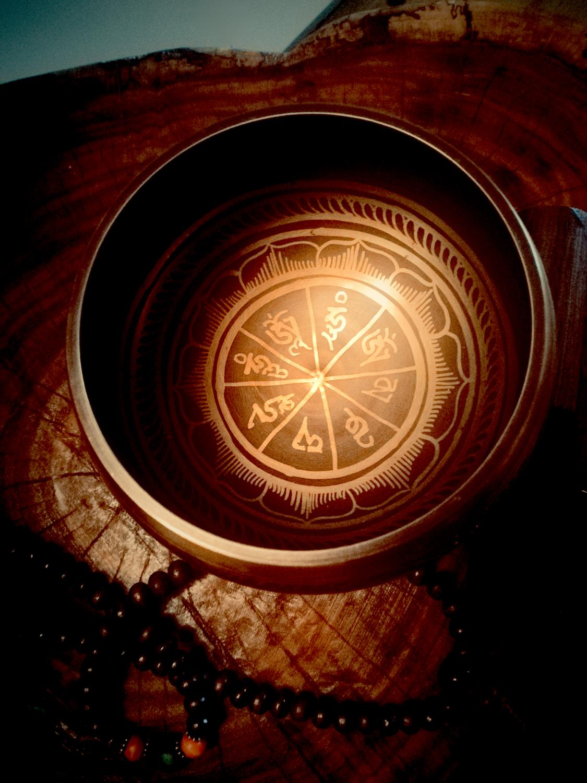 Campana Tibetana diametro 8 cm