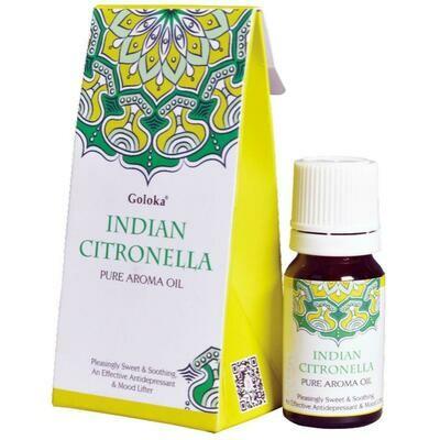 Olio Aromatico di Citronella Indiana - contenuto 10 ml