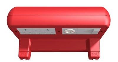 Shelf Station - UK - Crable Red