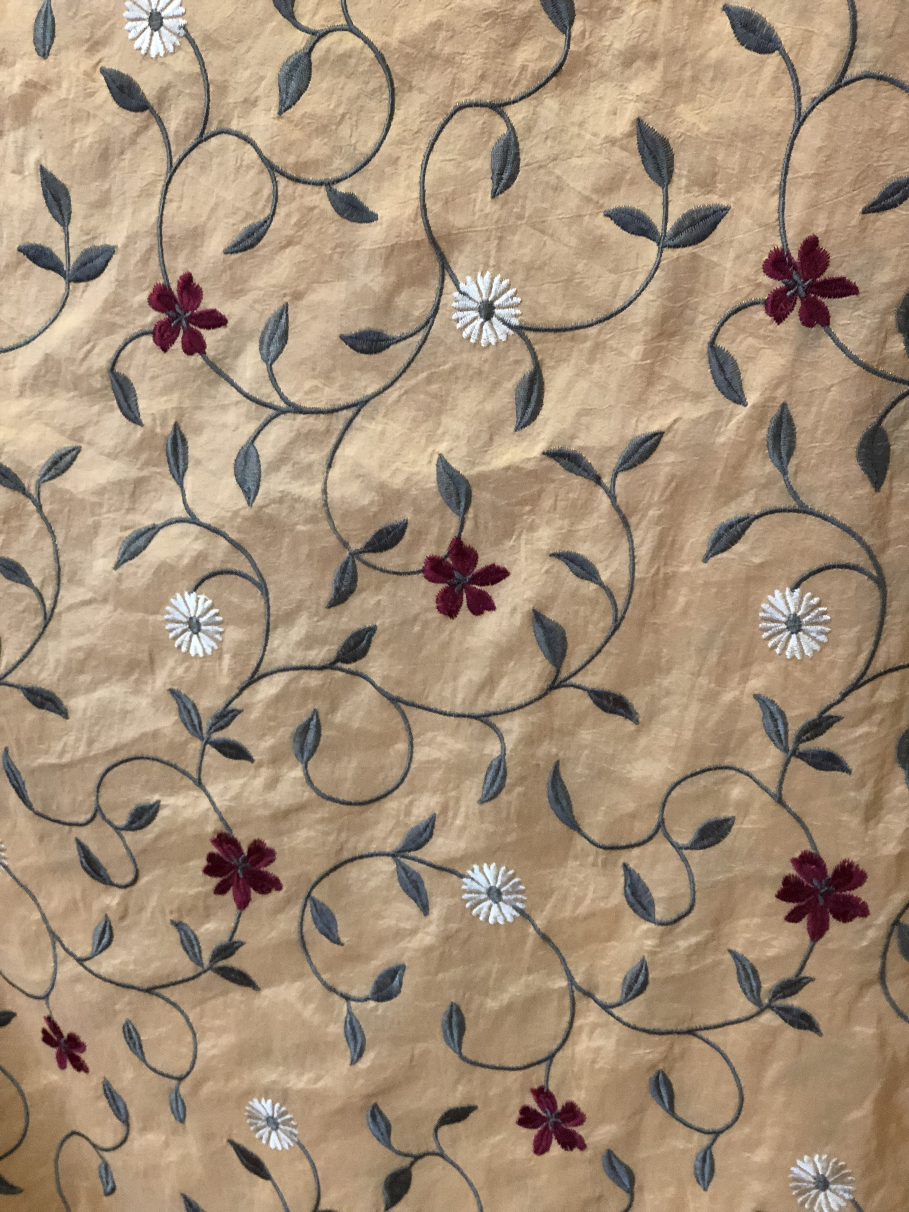 Floral Upholstery Fabric 00013