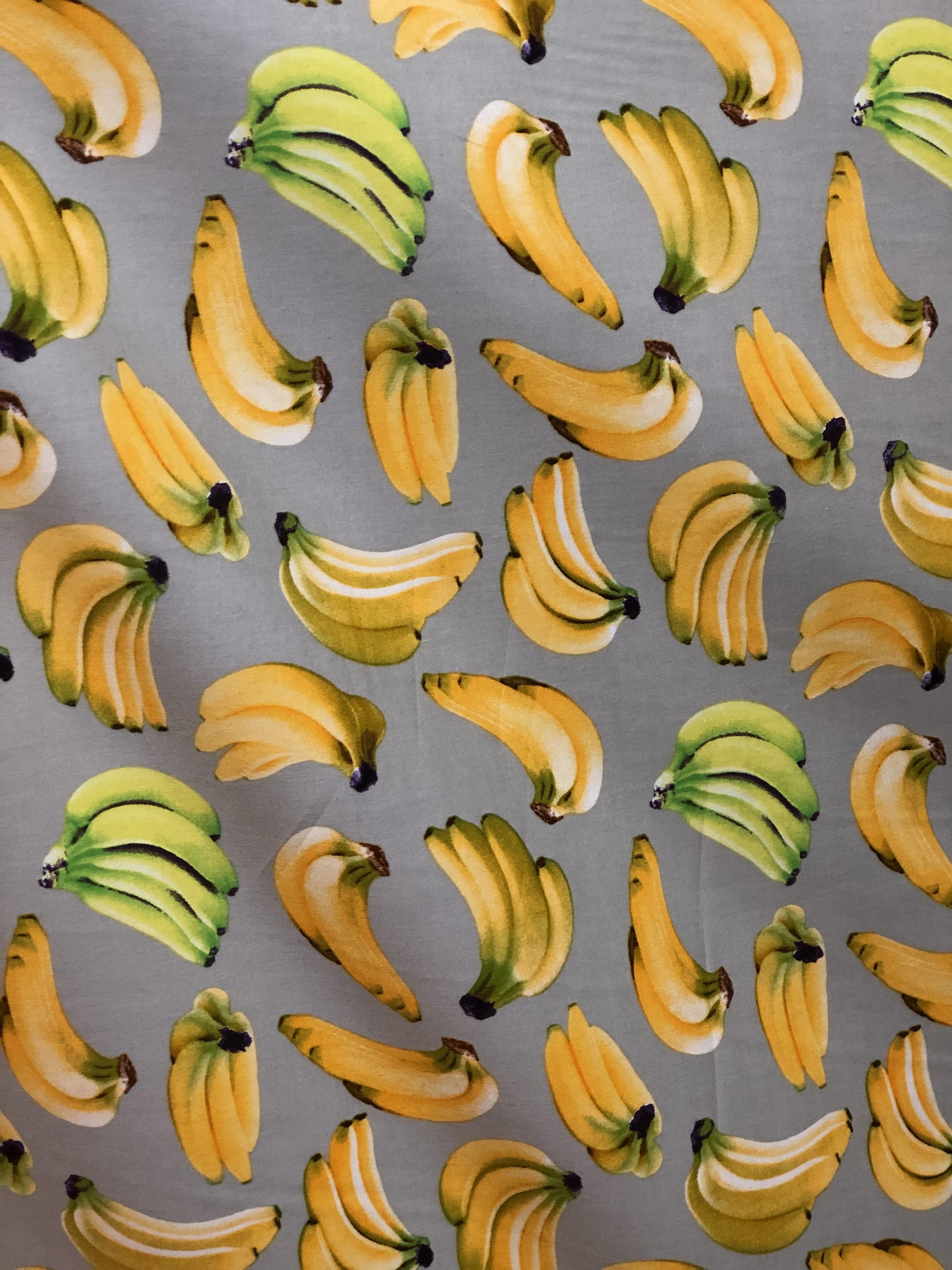 Super Bananas Cotton Fabric 00019