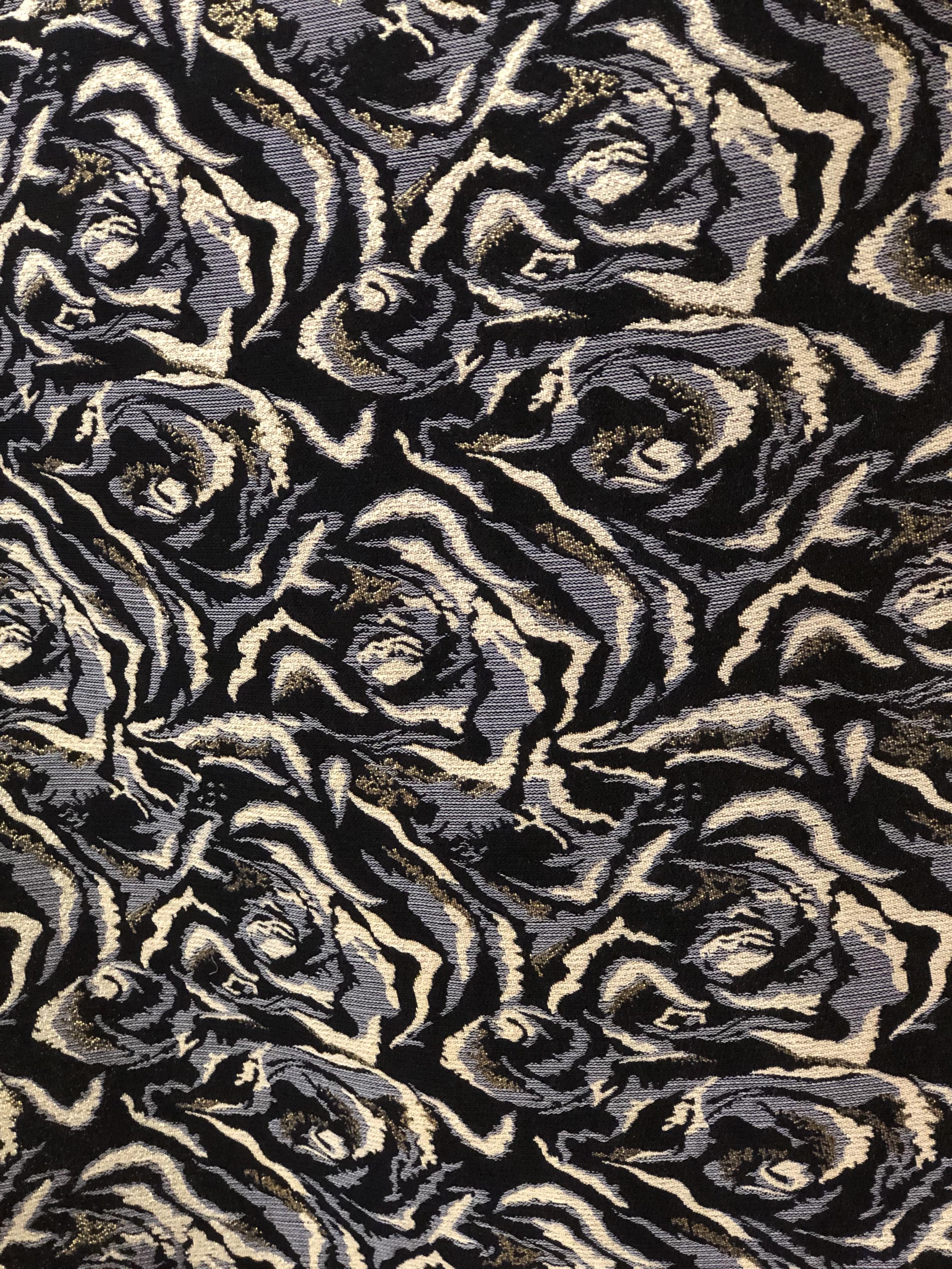 Spiral Velvet Crush Fabric 00026