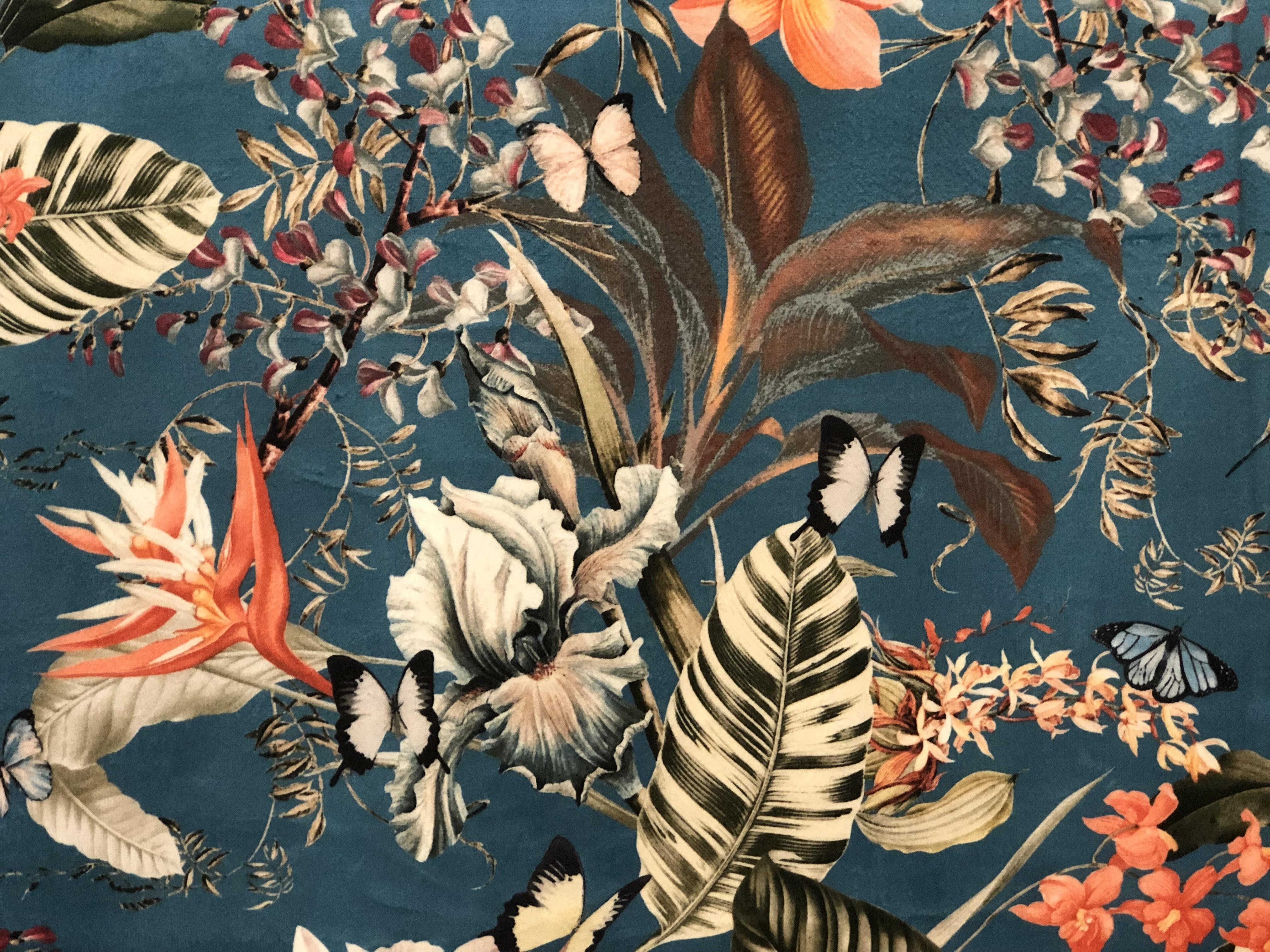 Natural Velvet Crush Fabric 00025