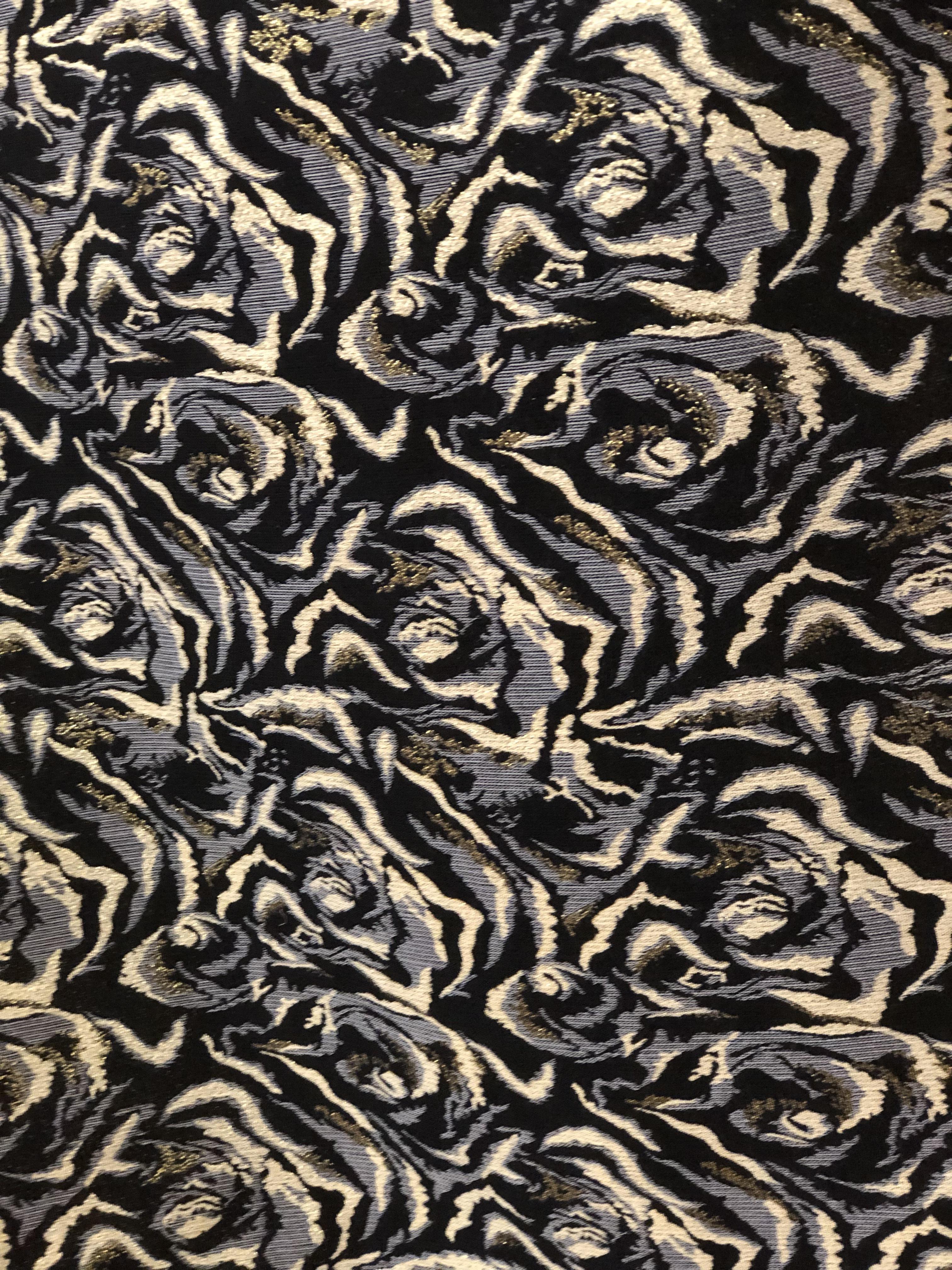 Spiral Velvet Crush Fabric