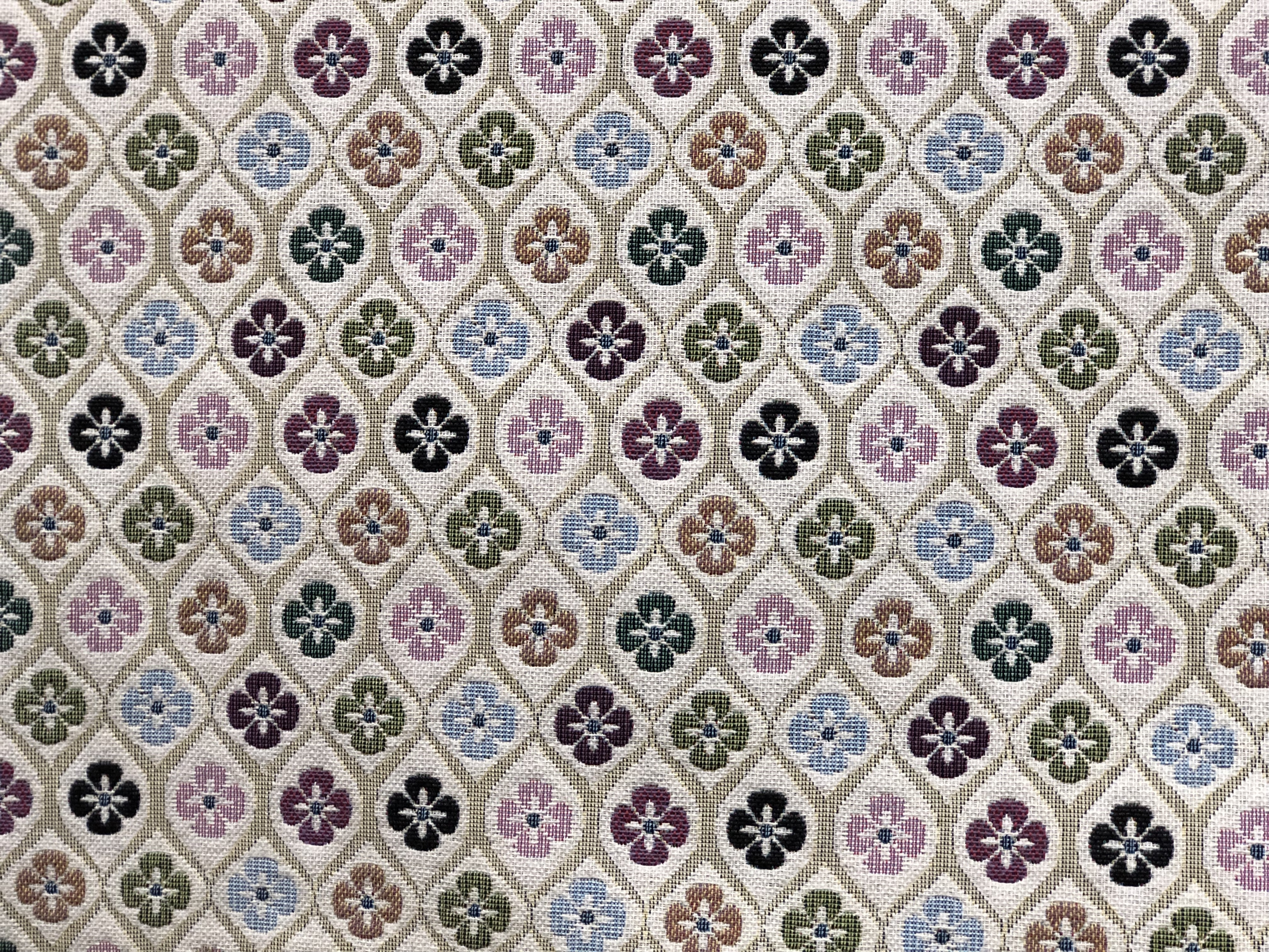 Floral Tapestry Fabric 00033