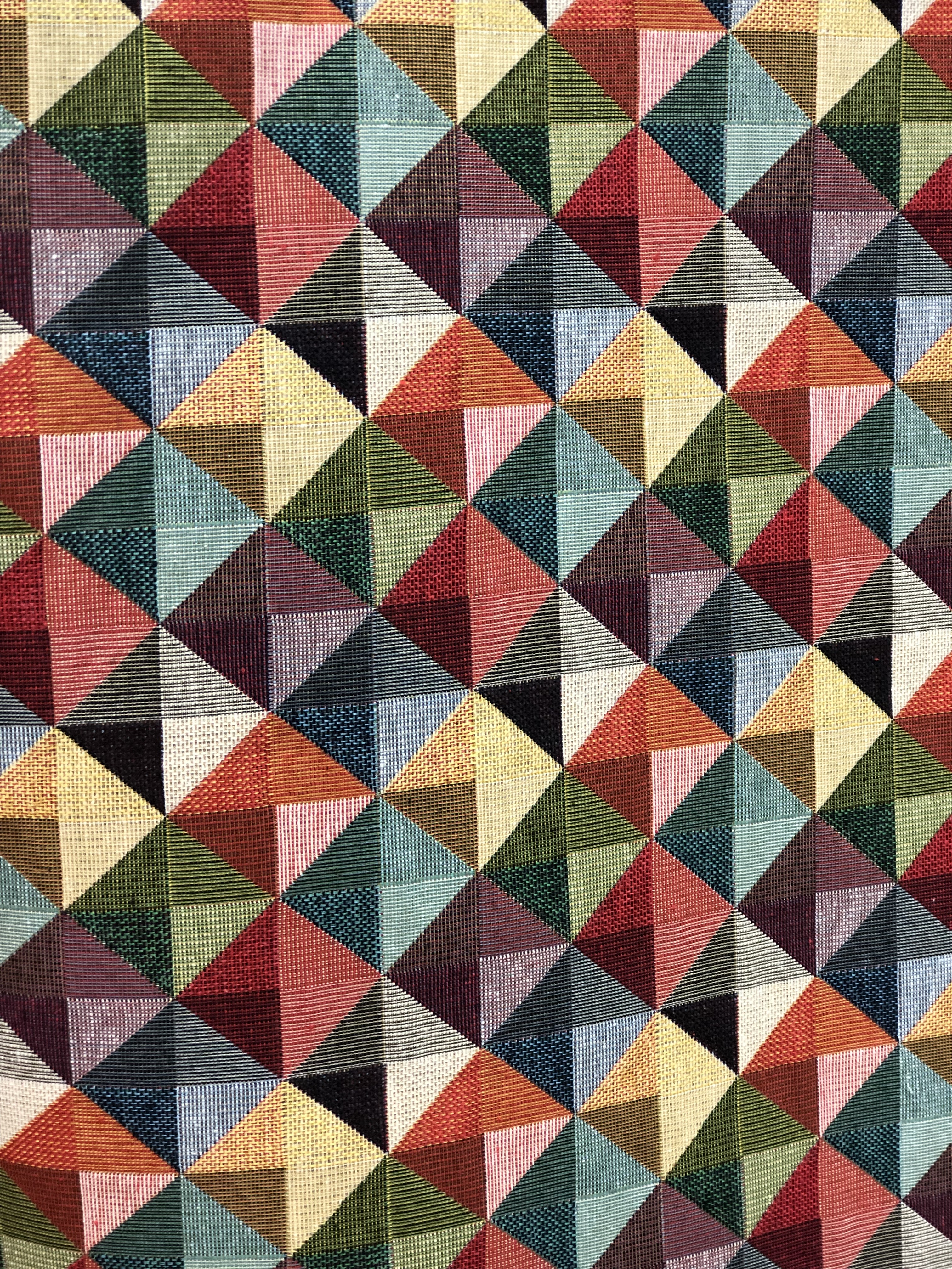 Geometric Tapestry Fabric 00030