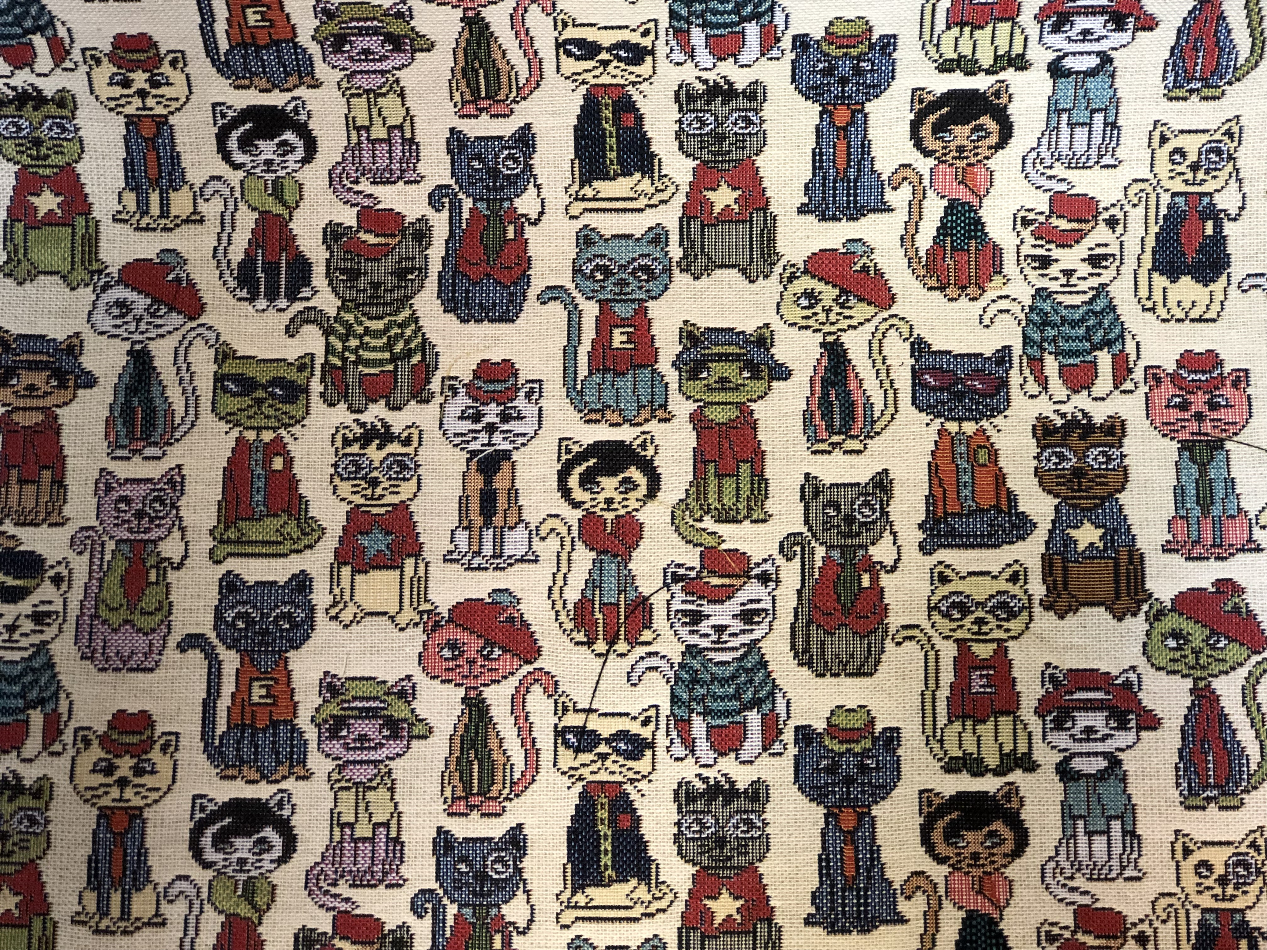 Cat lover Tapestry Fabric 00035