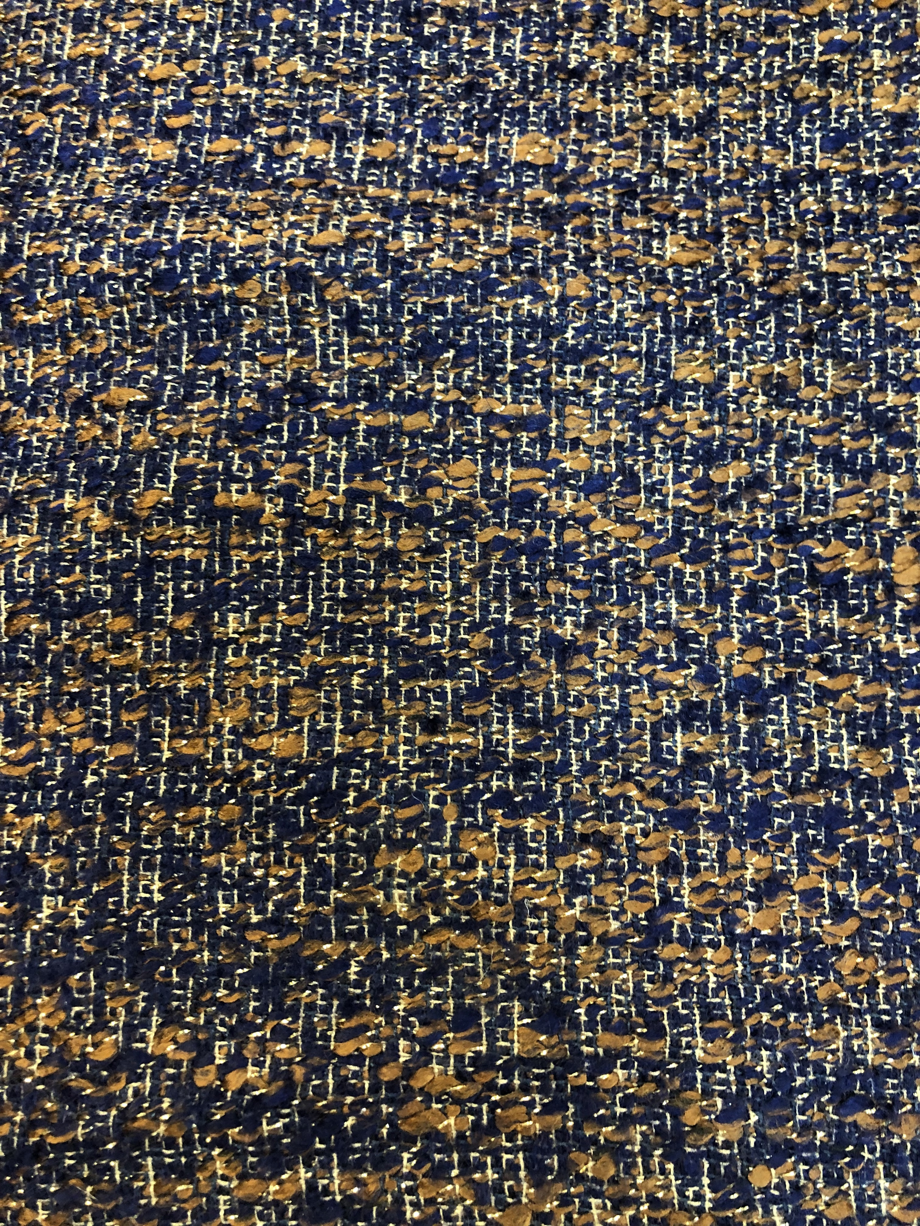 100% colorful wool fabric 00040