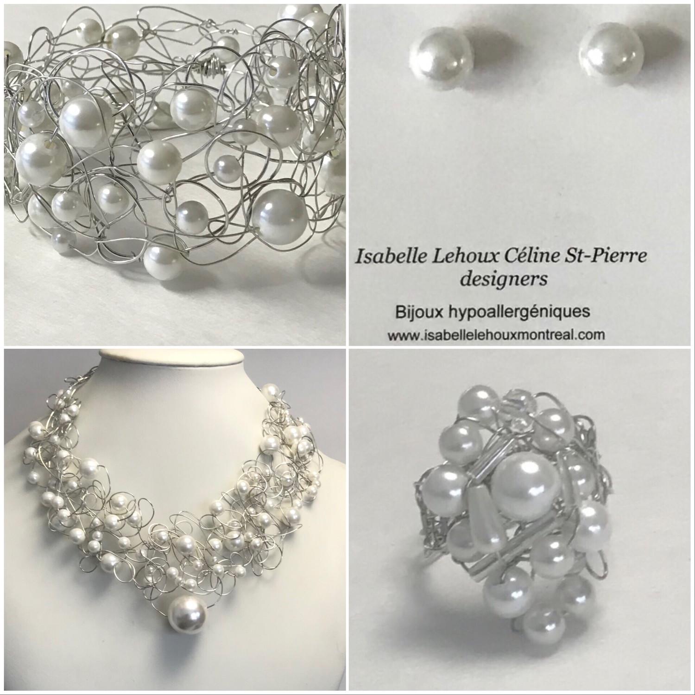 Ensemble Bijoux Royal Perles