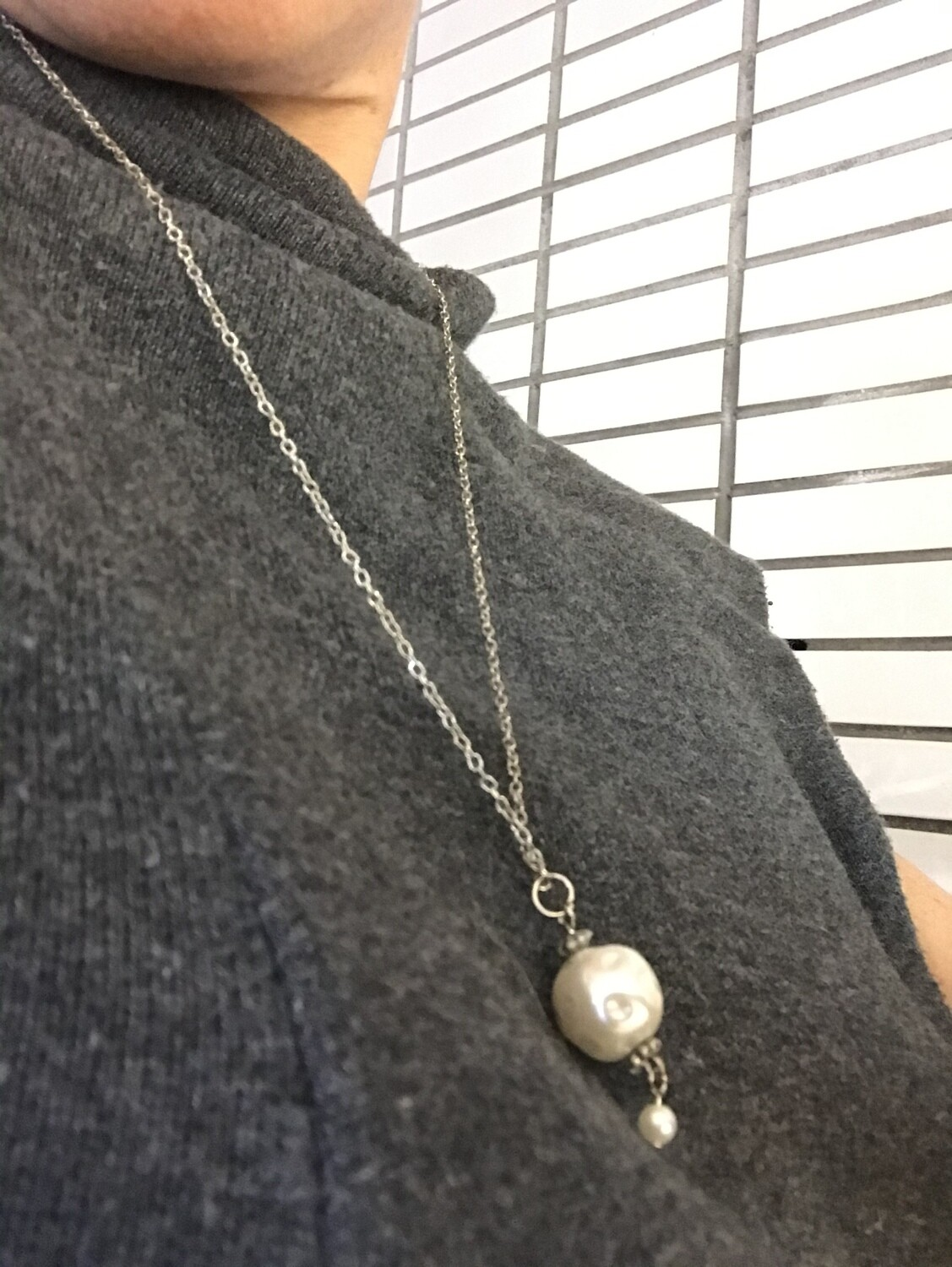 COLLIER CHIC PERLE