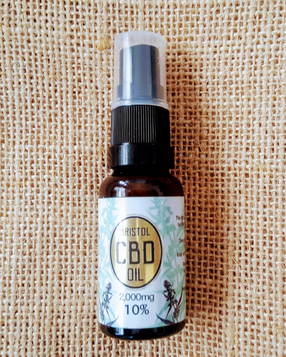 2000mg (10%) 'Gold' CBD oil 20ml Spray