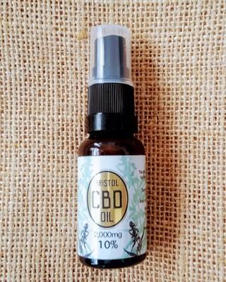 2000mg (10%) 'Gold' CBD oil 20ml Spray