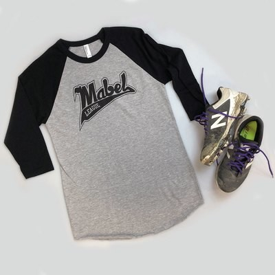 Mabel 3/4 Sleeve Softball Tee