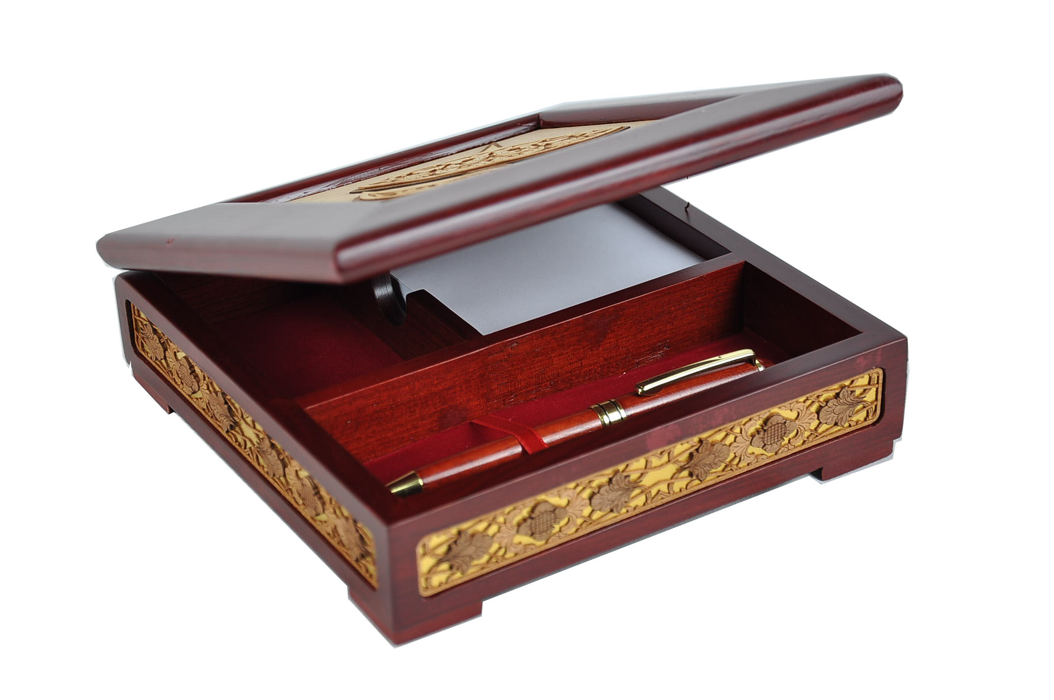 Wooden Box (Design Wau) 3 in 1