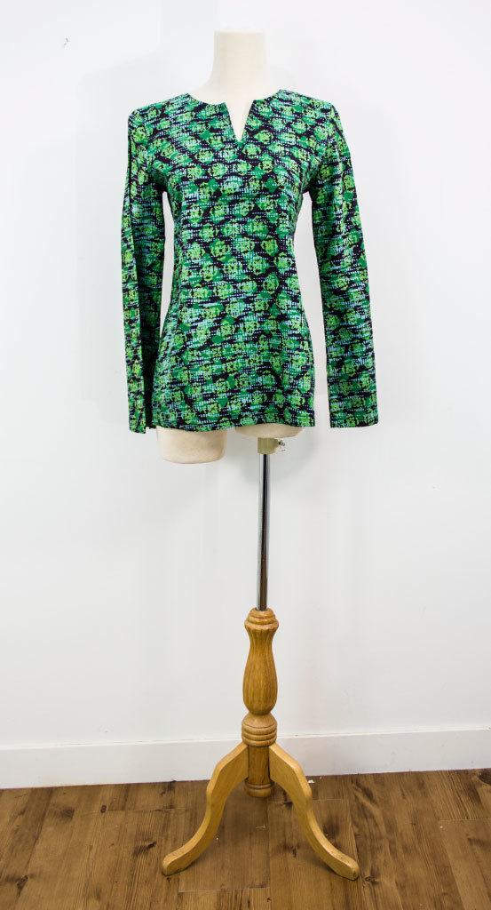 Baju Kedah Top Green