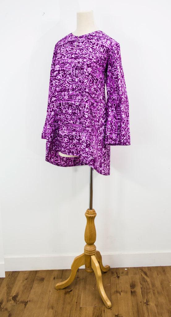 Blouse Pesak ( Purple, pink)
