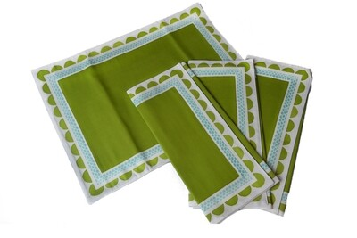 Placemat Set of 4 0650114004010-TIC