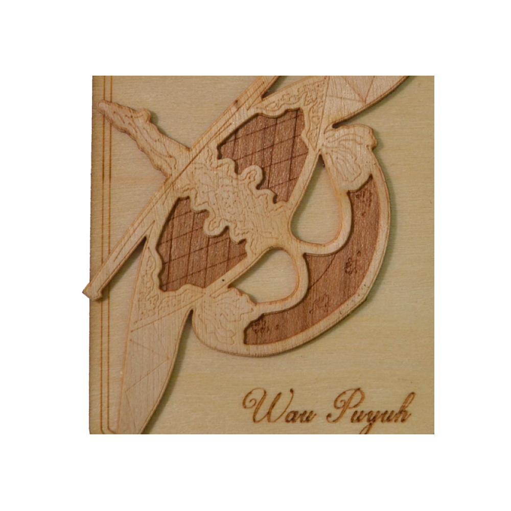 Magnet Wau Puyuh