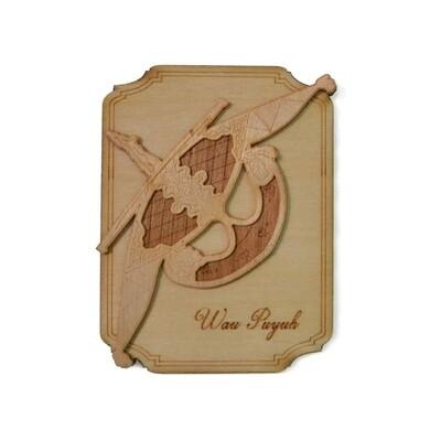 Magnet Wau Puyuh 0610307007022